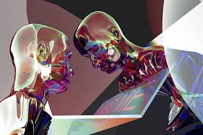 Self-analysis Digital Art Posters