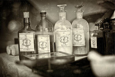 Old Philadelphia Bottles Posters