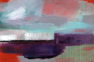 Horizontal Abstract Landscape Posters