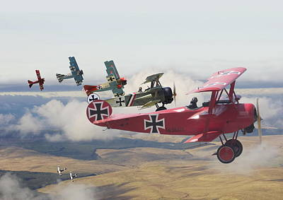 Red Baron Posters