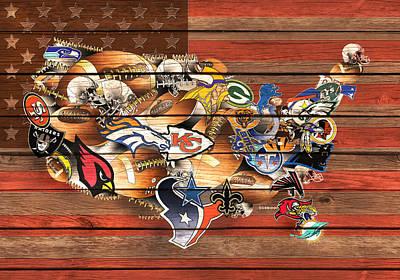 Denver Broncos Paintings Posters