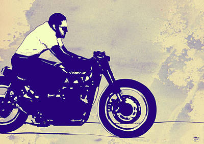 Motorcycle Drawings Posters