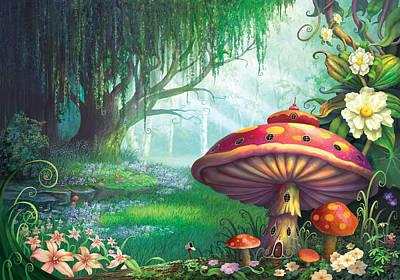Magic Mushroom Posters