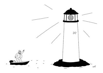 Lighthouse Drawings Posters
