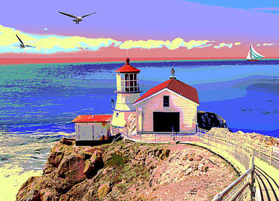 Lightstation Mixed Media Posters