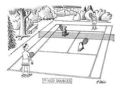 Tennis Drawings Posters