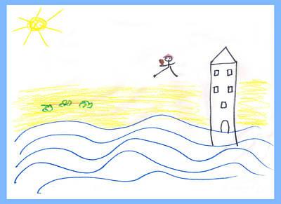 Childlike Drawings Posters