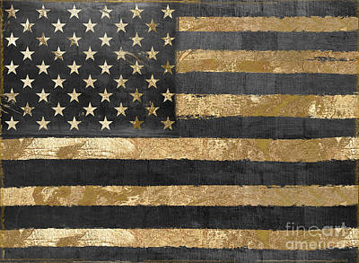 Gold Star Banner Posters