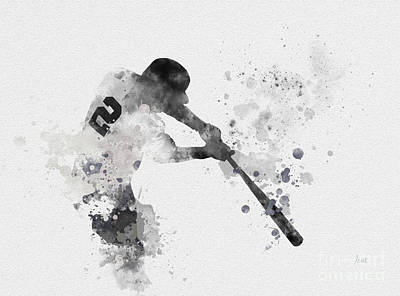 Jeter Mixed Media Posters