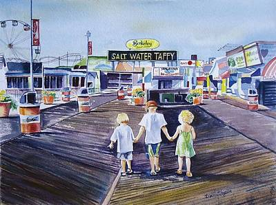 Seaside Heights Paintings Posters