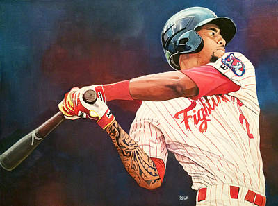 Jimmy Rollins Paintings Posters