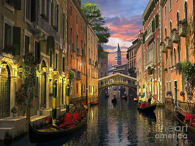 Italian Landscapes Digital Art Posters