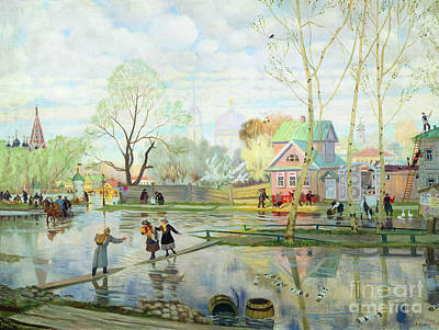 Spring Floods Paintings Posters