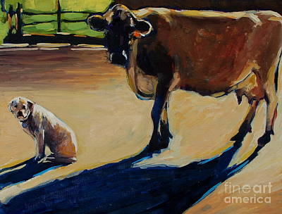 New England Dairy Farms Paintings Posters