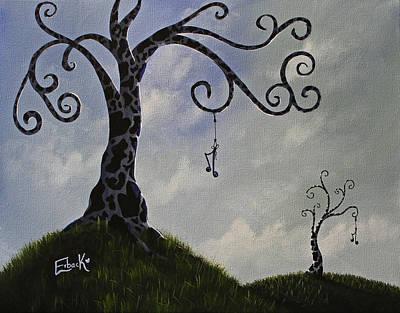 Swirly Tree Posters