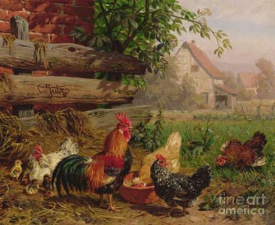 Farmyard Art Posters