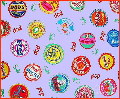 Bottlecap Paintings Posters