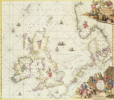 North Sea Drawings Posters