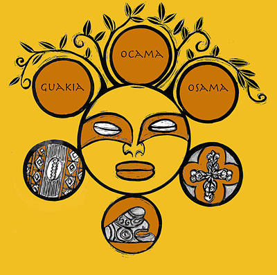 Taino Drawings Posters