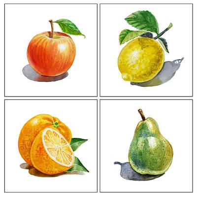 Lemon Paintings Posters