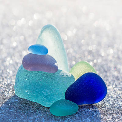 Seaglass Photographs Posters