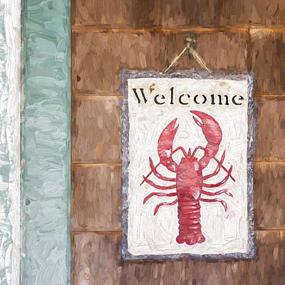 Lobster Sign Posters