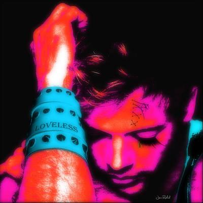 Drop Earrings Digital Art Posters