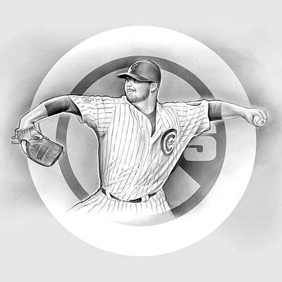 Cubs Drawings Posters