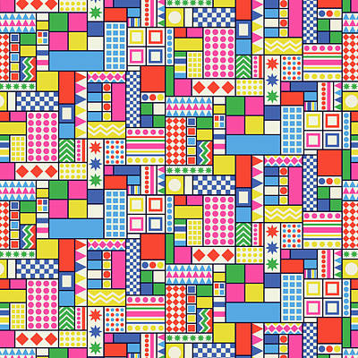 Tetris Block Posters