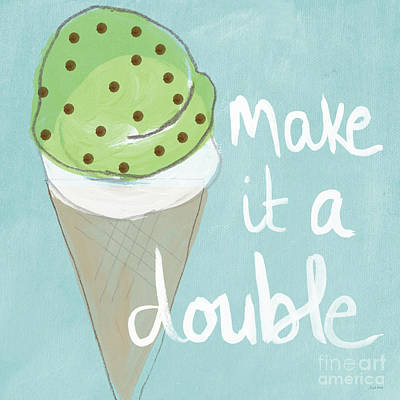 Ice Cream Illustration Posters