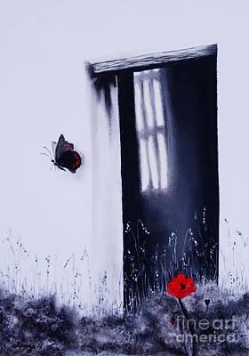 Bleeding Butterfly Posters