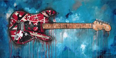 Rock Van Halen Posters