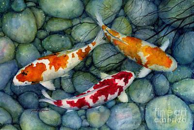 Fish Koi Pond Posters