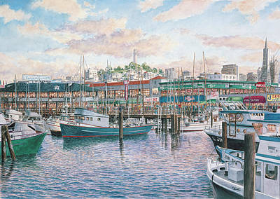 Fishermans Wharf Posters