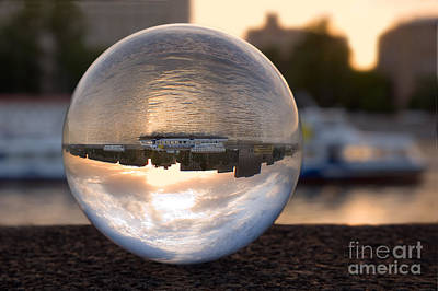 Glass Sphere Posters
