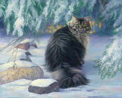 Siberian Cat Posters