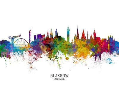 Designs Similar to Glasgow Scotland Skyline