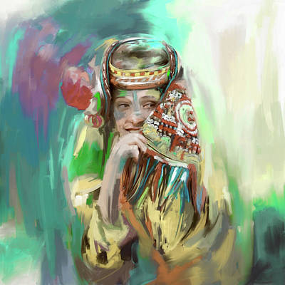 Designs Similar to Painting 786 3 Kailash Girl