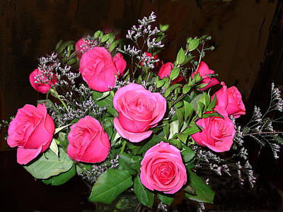 1 Dozen Roses Poster by Joyce Blank