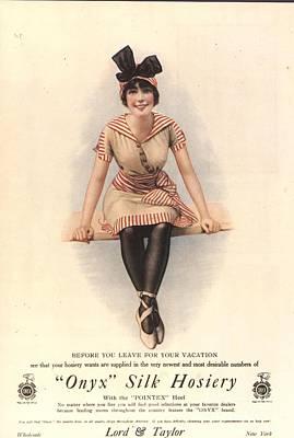 1915 1910s Usa Onyx Silk Stockings Poster
