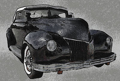 39 Custom Coupe Poster by Ernie Echols