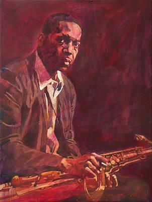 A Love Supreme - Coltrane Poster by David Lloyd Glover