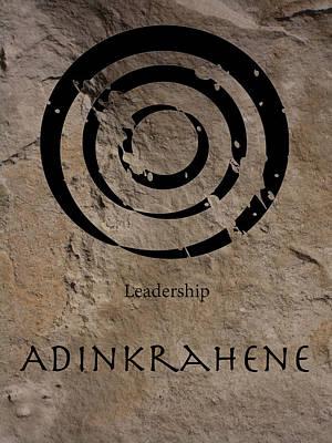 Adinkra Adinkrahene Poster