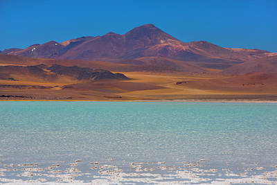 Atacama Salt Lake Poster