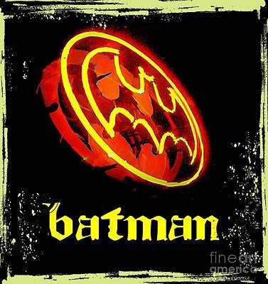 Batman In Halifax Poster