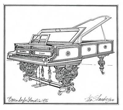 Bosendorfer Centennial Grand Piano Poster