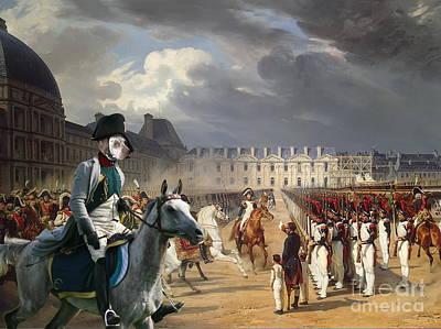 Braque Du Bourbonnais - Bourbonnais Pointer Art Canvas Print Poster