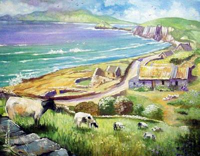 Dingle Co Kerry Ireland Poster by Paul Weerasekera