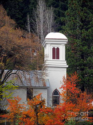 Downieville Church Poster