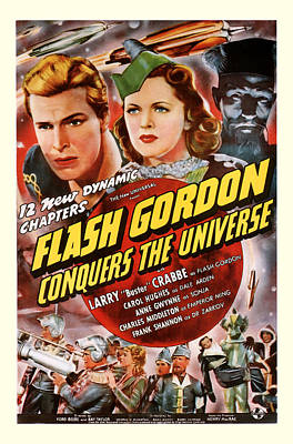 Flash Gordon Conquers The Universe 1940 Poster